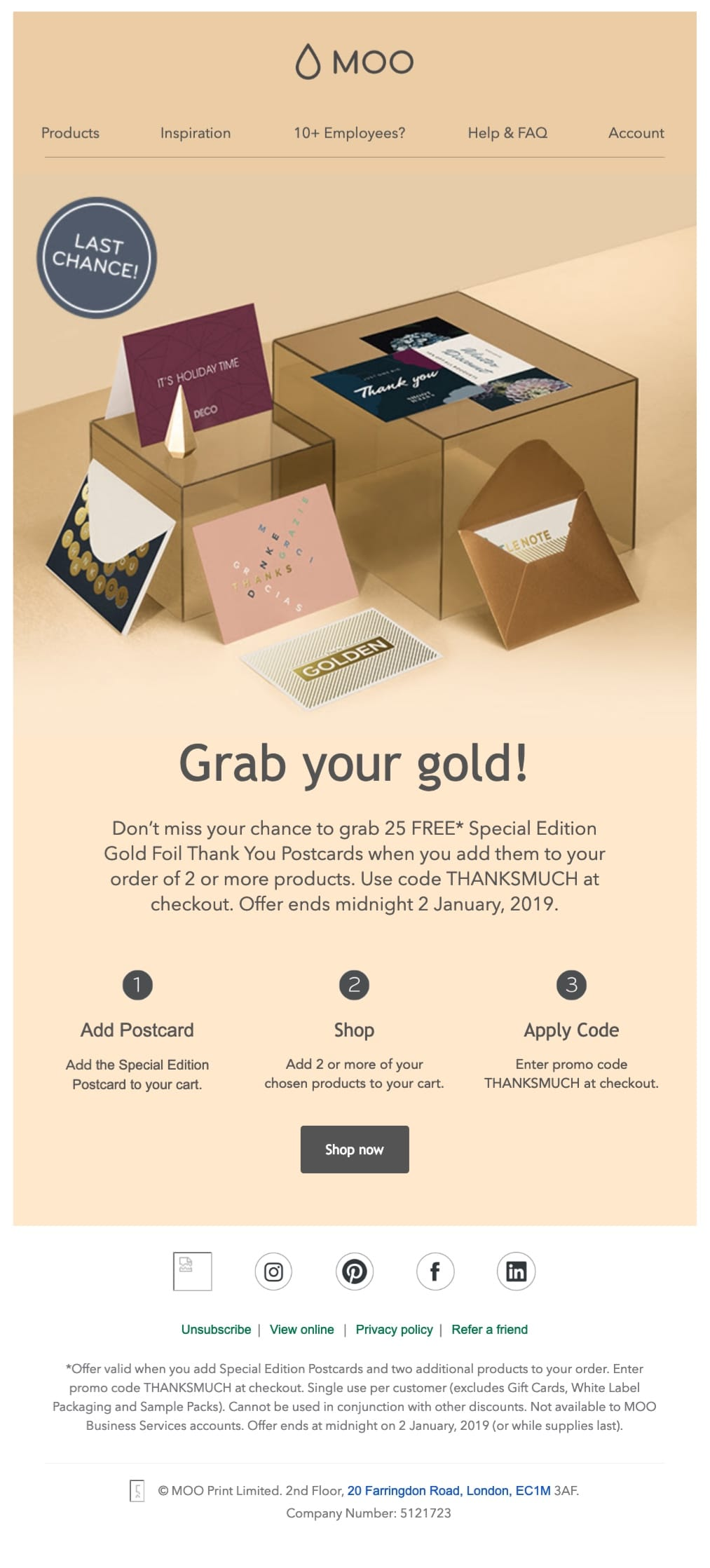 Promotional Emails: 33 Examples, Ideas, Best Practices
